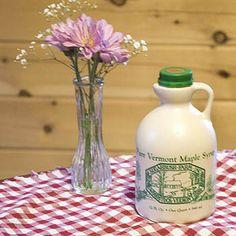 Sugarbush Farm - Quart of Pure Vermont Maple Syrup, $23.95 (http://www.sugarbushfarm.com/quart-of-pure-vermont-maple-syrup/)