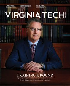 Virginia Tech Magazine, spring 2014: The education of Timothy D. Sands, Virginia Tech's next president; Virginia Tech experts direct one of six elite test sites in the U.S. for integrating unmanned aircraft into national airspace; the Center for Geospatial Information Technology helps eastern U.S. wineries find their niche; researchers at the Kimballton Underground Research Facility study subatomic particles away from the background radiation that saturates the earth's surface.