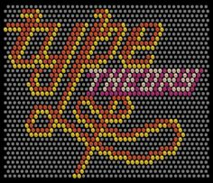 web-based Lite-Brite experiment by Type Theory (2009)