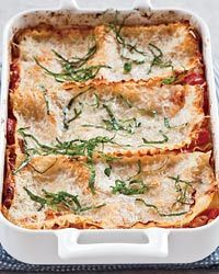 Free Form Sausage and Three Cheese Lasagna // More Baked Pastas: http://www.foodandwine.com/slideshows/baked-pasta-dishes #foodandwine