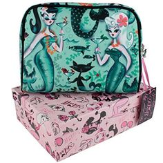 Fluff Martini Mermaids  Cosmetic Beauty Case * Want to know more, click on the image.