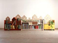 DIY House Shelf for Kids