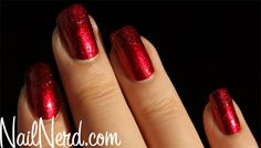 Nail Nerd (nail art for nerds) » Red Heartbreaker Nails