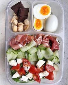 Lunch Meal Prep, Healthy Meal Prep, Healthy Snacks, Healthy Eating, Healthy Recipes, Healthy Nutrition, Healthy Lunch Boxes, Paleo Diet, Healthy Food Tumblr