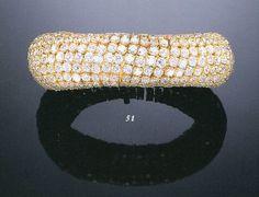 A DIAMOND BRACELET, BY TABBAH