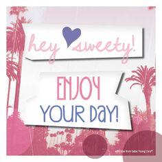 Enjoy your day! www.bebe.de #bebe #bebeyoungcare #freundschaft #friendship #bff #bestfriends #beautiful #bezaubernd #zitat #quote