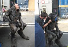 """Those are some huge paws! From the """"Underworld"""" movie series. #WerewolfWednesday"""