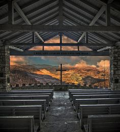 """""""Pretty Place"""" Chapel at Camp Greenville 