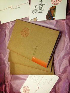 Neue Punktrastereinlagen von Roterfaden #notebook #diary #stationery #notizbuch #tagebuch #papier #notizbuchblog