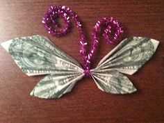 Why would the tooth fairy leave a plain old dollar under the pillow when she could leave a butterfly or two.