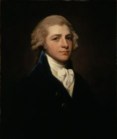 1787 George Romney - Portrait of Richard Palmer