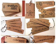 He encontrado este interesante anuncio de Etsy en https://www.etsy.com/es/listing/249099355/100-etiquetas-colgantes-de-papel-kraft