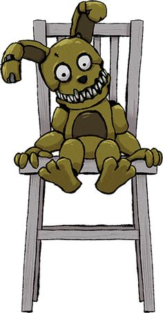 Five Nights at Freddy's - Plushtrap by kaizerin on DeviantArt Five Nights At Freddy's, Freddy S, Fnaf Coloring Pages, Fnaf Characters, Fnaf Drawings, Freddy Fazbear, Sister Location, Best Horrors, Plush