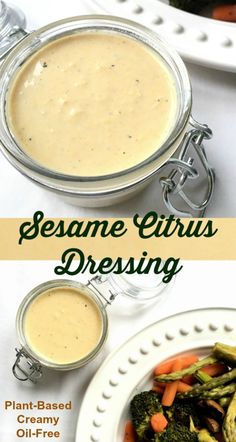 This plant-based dressing takes just 5 ingredients and can be whipped up in 5 minutes. Great on salad, steamed veggies, roasted veggies and even as a dip. Oil Free Salad Dressing, Salad Dressing Recipes, Salad Recipes, Miso Dressing, Whole Food Recipes, Cooking Recipes, Cooking Tips, Vegetarian Recipes, Healthy Recipes
