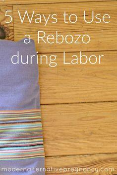 rebozo during labor