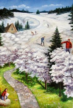 Gonsalves - Spring Skiing