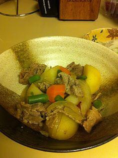 The ExPat Returneth: Nikujaga, #Japanese #Meat and #Potatoes #recipe