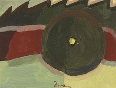 Untitled by Arthur Dove, gouache and watercolor on paper