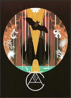 I am in love with Charley Harper's Illustration style! Caves - Poster