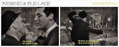 I love this movie it doesn't matter how many times I see it Cary Grant cracks me up! Arsenic & Old Lace #classic! Feels like a blog post is coming http://annuarychit.com