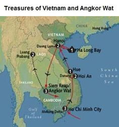 Treasures of Vietnam and Angkor Wat  Tour Itinerary  Visit AAA Vacations®  Picture courtesy of General Tours