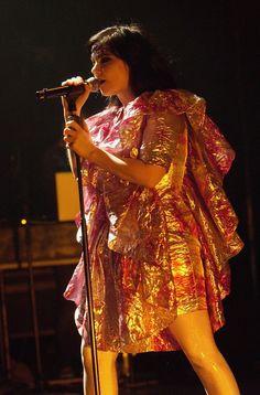 Bjork in Bjork Performs At Hammersmith Apollo