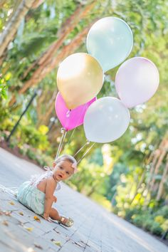 Baby first birthday themes girl project nursery 46 New Ideas Baby Girl First Birthday, Birthday Cake Girls, 1st Birthday Parties, Birthday Ideas, Themed Parties, 1st Birthday Outfit Girl, First Birthday Balloons, Flower Birthday, Birthday Cakes