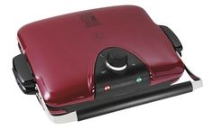 George Foreman GRP90WGR Next Grilleration Electric Nonstick Grill with 5 Removable Plates for $96.54