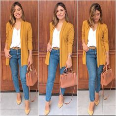 30 Casual outfits for women over 40 « Fashion Desinger Casual Work Outfits, Business Casual Outfits, Work Attire, Classy Outfits, Cool Outfits, Casual Wear, Work Fashion, Fashion Looks, Fashion Outfits