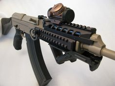 Tactical VZ-58 with rails, reddot and AFG