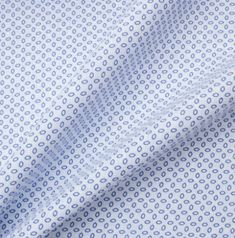 A premium quality sky blue pure linen with royal blue geometric print. This hard wearing, yet breathable luxury woven fabric is ideal for practical tailoring, such as shirts. New in and available in a variety of colours and patterns. Shirting Fabric, Woven Fabric, Geo, Royal Blue, Colours, Pure Products, Luxury, Printed, Pattern