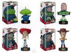 Funko Wacky Wobblers – Toy Story – Set of 4 Talking Wooblers (Woody, Buzz, Jessie & Alien) http://popvinyl.net #funko #funkopop #popvinyls