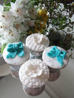 Delicadeza e Sofisticação. Cupcakes para Noivado (Bridal Shower)