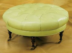 L122 C OTTOMAN by Wesley Hall - traditional - ottomans and cubes - wesleyhall.com