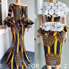 Beautiful Ankara Skirt And Blouse Styles 2018 Unique Ankara Styles, Ankara Short Gown Styles, Ankara Styles For Women, Beautiful Ankara Styles, Latest Ankara Styles, Ankara Gowns, African Fashion Ankara, African Print Dresses, African Dress