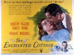 Dorothy McGuire Robert Young film The Enchanted Cottage 35m-2457