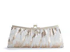 DSW Lulu Townsend Ombre Sequined Frame Clutch