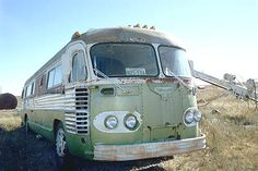1951 Flxible VisiCoach For Parts or Restore.