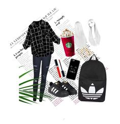 """still"" by nagyanita on Polyvore featuring Frame, adidas, Topshop, Casetify and Christian Dior"
