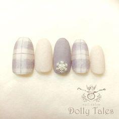 かわいいネイルを見つけたよ♪ #nailbook Xmas Nails, Holiday Nails, Christmas Nails, Christmas Tree, Plaid Nails, Sweater Nails, Plaid Nail Art, Love Nails, Pretty Nails