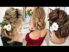 wedding hairstyles tutorials compilation || Bridal hair tutorial || wedding updo hairstyles tutor - YouTube