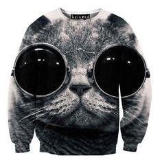 Cool Cat Sweater by Beloved Wear | fab.com