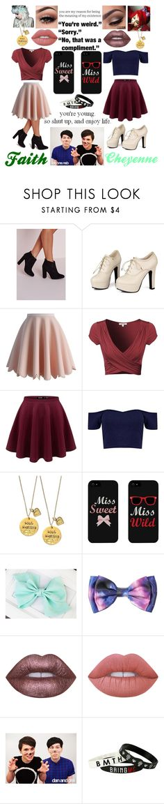"""""""#82 Hanging with Phan"""" by bringpanicinreverse ❤ liked on Polyvore featuring Missguided, Sidewalk, Chicwish, Boohoo, Alisa Michelle, Lime Crime and Hot Topic"""