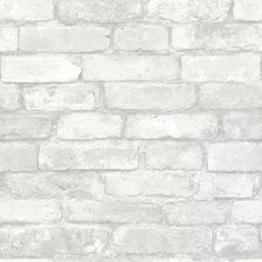 Arthouse Whitewash Paper Non-Pasted Wallpaper Roll (Covers 57.26 Sq. Ft.)-671100 - The Home Depot