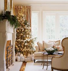tree decor for #christmas living rooms