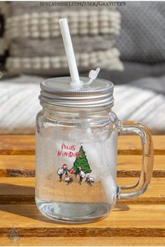 * Fleas Navidad - Christmas Tree Mason Jar Mug / 12 oz Drinking Glass by #Gravityx9 at Spreadshirt * Includes a Screw cap and reusable white drinking straw. * A fun gift for friend, gift for coworker or family. * A family of fleas, wishing all a Feliz Navidad! * This design is available on shirts, scarves, home decor and more. * Drinking Glass * Mason Jar Drink Ware * Funny Christmas Mug * #drinkingglass #masonjar #masonjarmug #mug #navidad #feliznavidad #fleas 0920