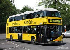 New Routemaster: Berliner Verkehrsbetriebe Volkswagen Bus, Volkswagen Beetles, Vw Camper, London Transport, Public Transport, New Routemaster, Nice Bus, London Red Bus, Transportation Technology