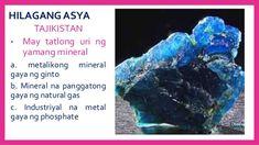 HILAGANG ASYA TURKMENISTAN • Natural gas at langis ang pangunahing industriya