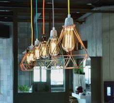 #Diamond, #laurentmare, #filamentstyle, #luminaire, #lighting, #design, #industriel, #industrial, #suspension, #pendantlight