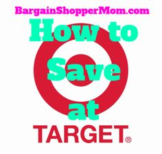 How to Save at Target - Learn all the tips and tricks and best ways to save money at Target.